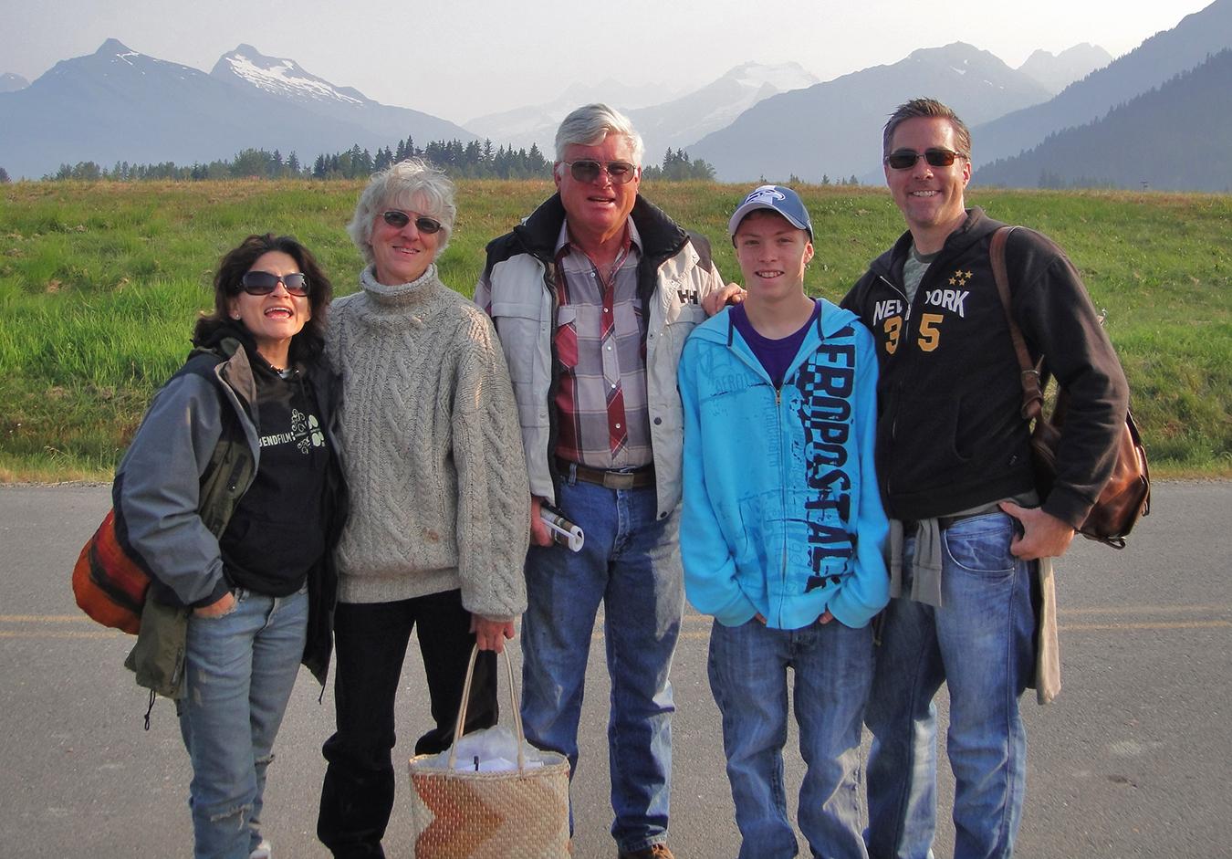 Gitta, Cathy, Ed, Scott Ramsay